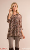 Fall for Paisley Top By Simply Noelle