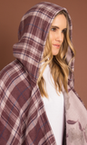 Hidden Garden Hooded Wrap by Simply Noelle