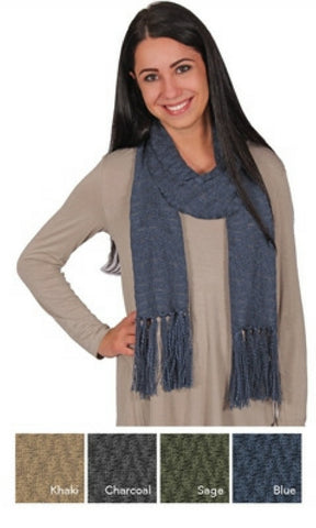 Light Knit Scarf by Simply Noelle