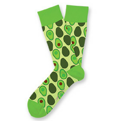 Two Left Feet™ Sock Co - Holy Gucamole Socks