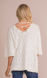 Vineyard Lace Up Top