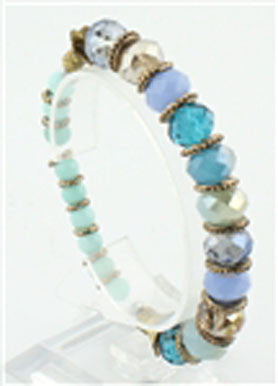 Multicolored Blue Bracelet