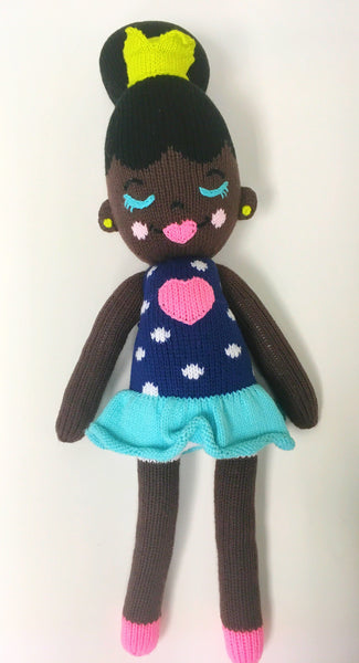 Renee-Handmade Eco-Friendly Happy Hair Doll
