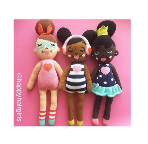 Happy Hair® knit doll Collection