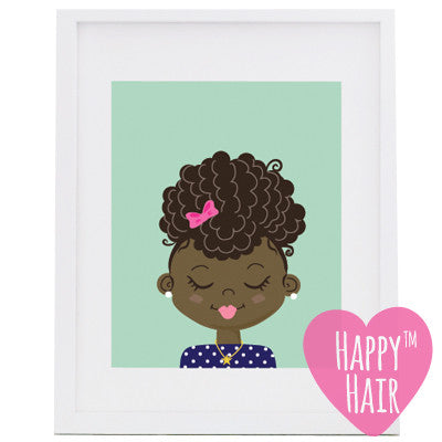 Happy Hair™ Poster - Happy Hair Shop  - 1