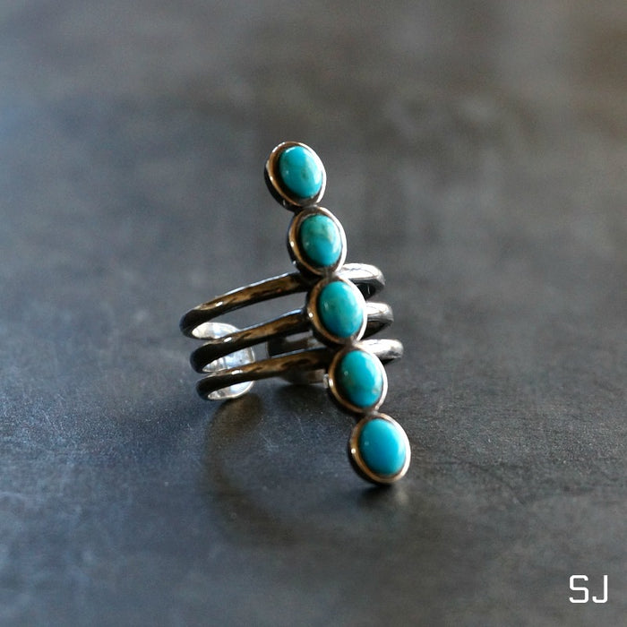 Kachada Turquoise Ring - SOWELL JEWELRY