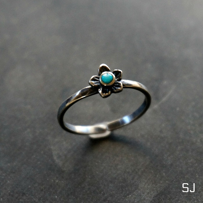 Plumeria Flower Ring - SOWELL JEWELRY