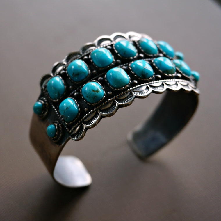 Asia Turquoise Cuff - SOWELL JEWELRY