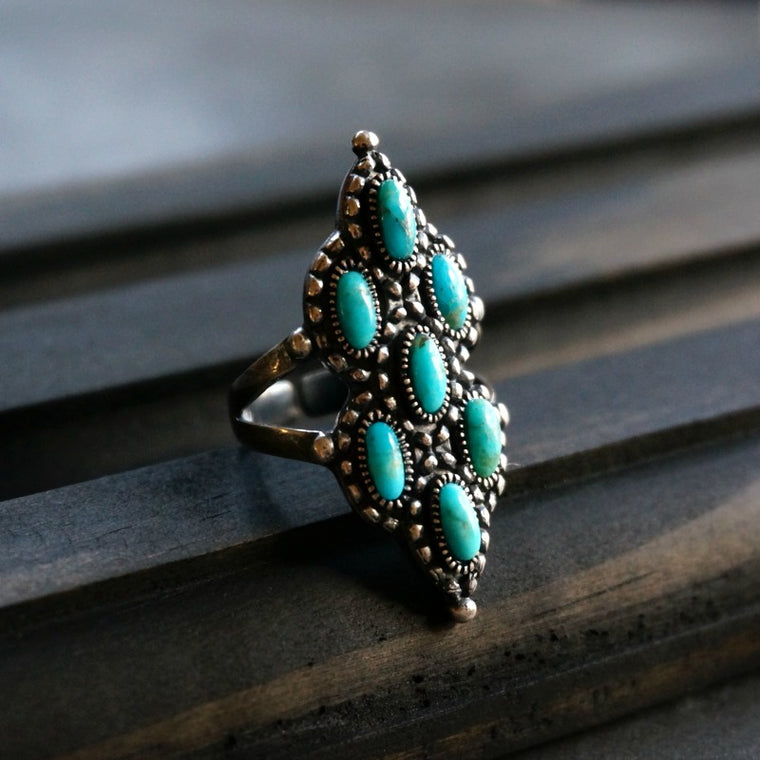 Achilles Turquoise Ring