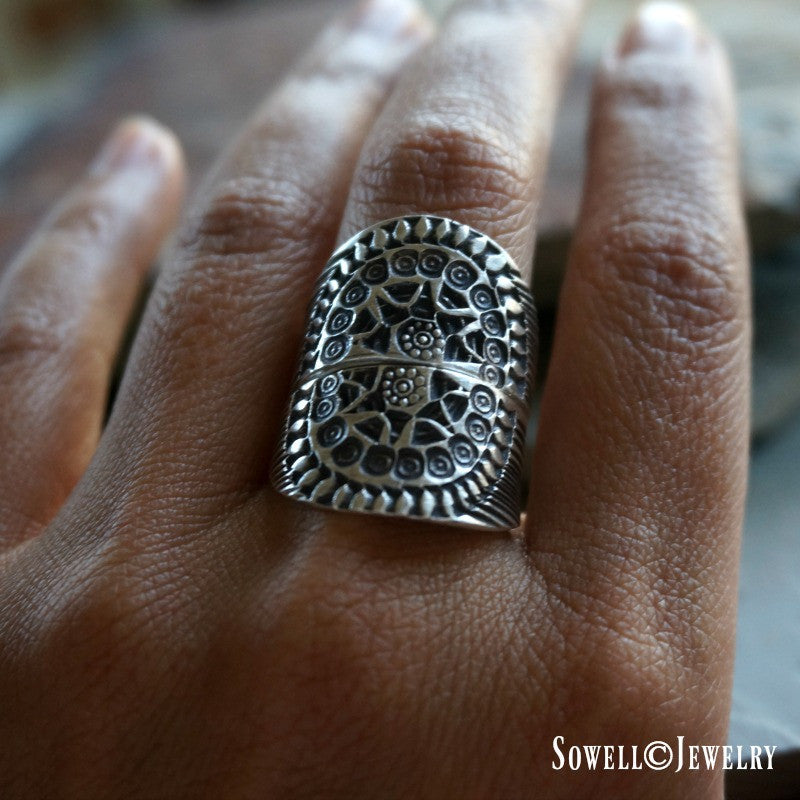 Aysu Silver Ring - SOWELL JEWELRY