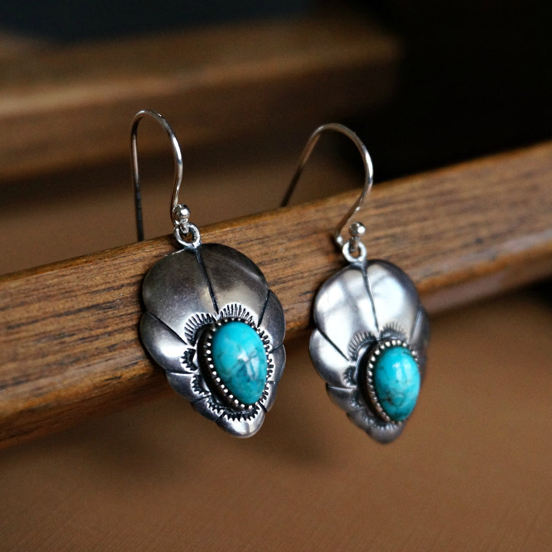 Adoeette Turquoise Earrings - SOWELL JEWELRY
