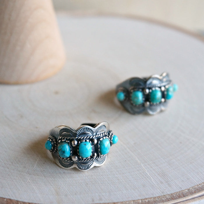 Asia Turquoise Ring - SOWELL JEWELRY