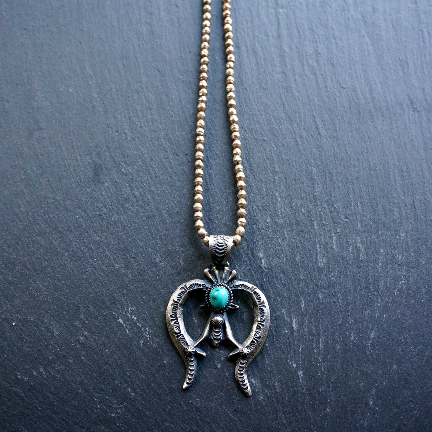 Naja Turquoise Necklace - SOWELL JEWELRY