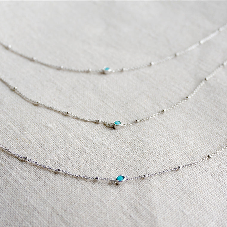 Avena Turquoise Delicate Necklace