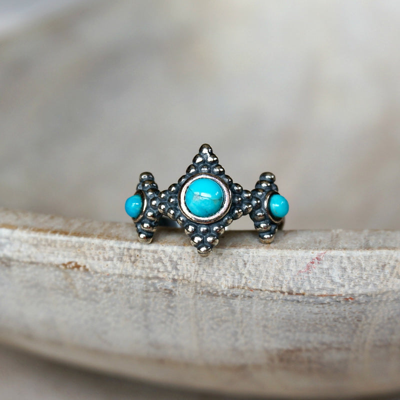 Tala Turquoise Ring - SOWELL JEWELRY
