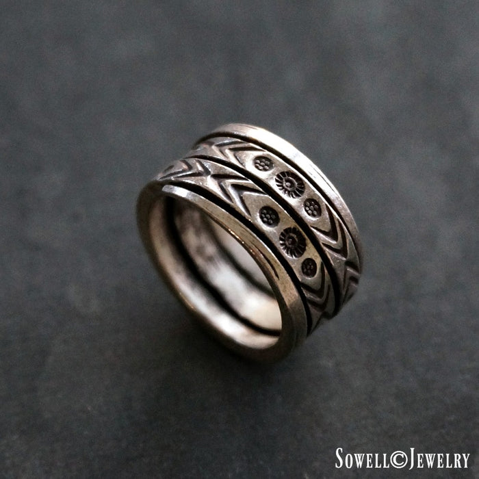Nawang Silver Ring - SOWELL JEWELRY