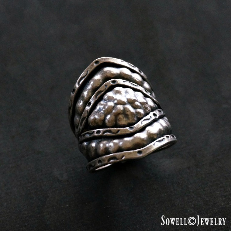 Tad Sterling Silver Ring
