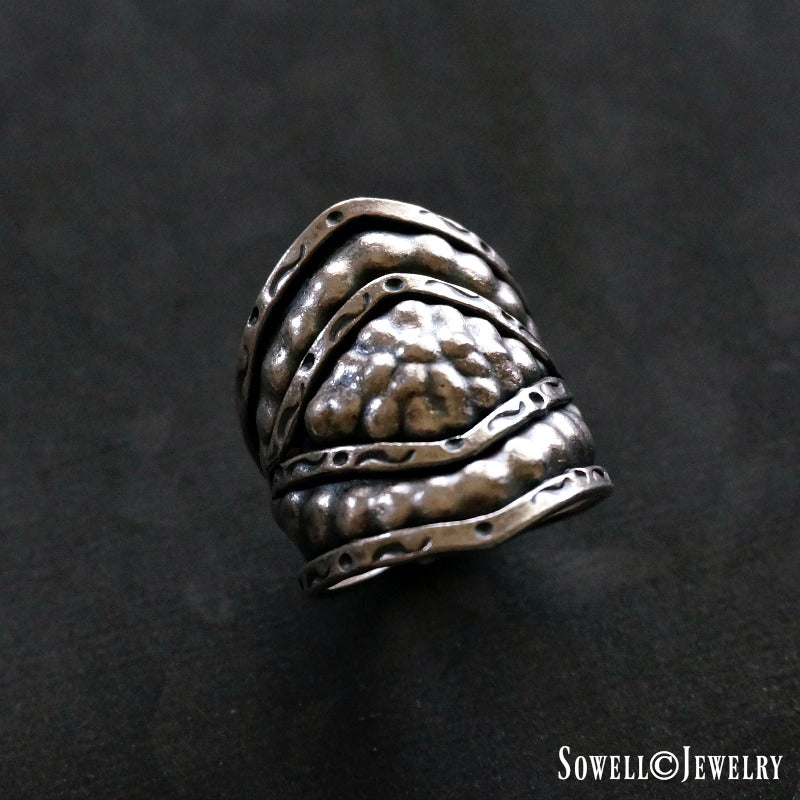 Tad Sterling Silver Ring - SOWELL JEWELRY