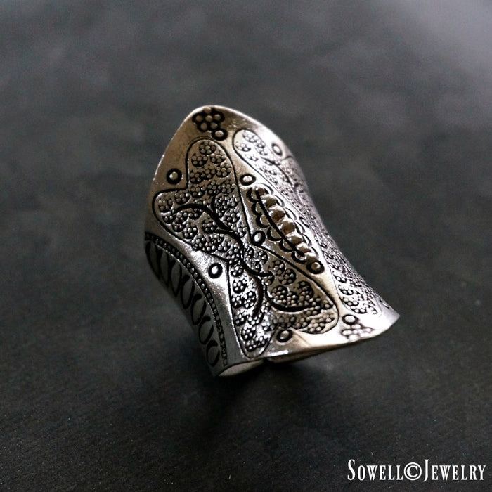 Asnee Sterling Silver Ring - SOWELL JEWELRY