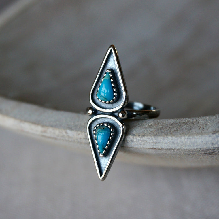 Elan Turquoise Ring - SOWELL JEWELRY