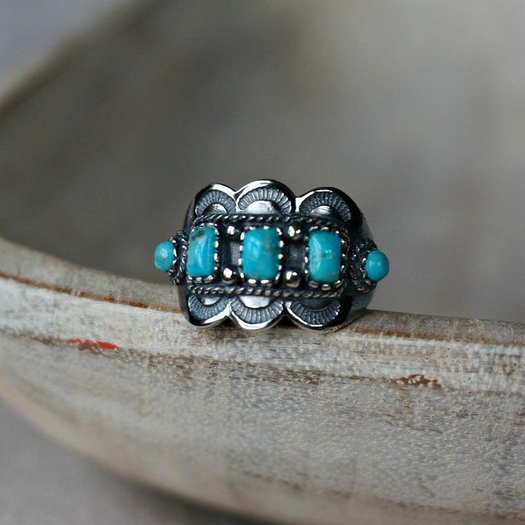 Asia Turquoise Ring