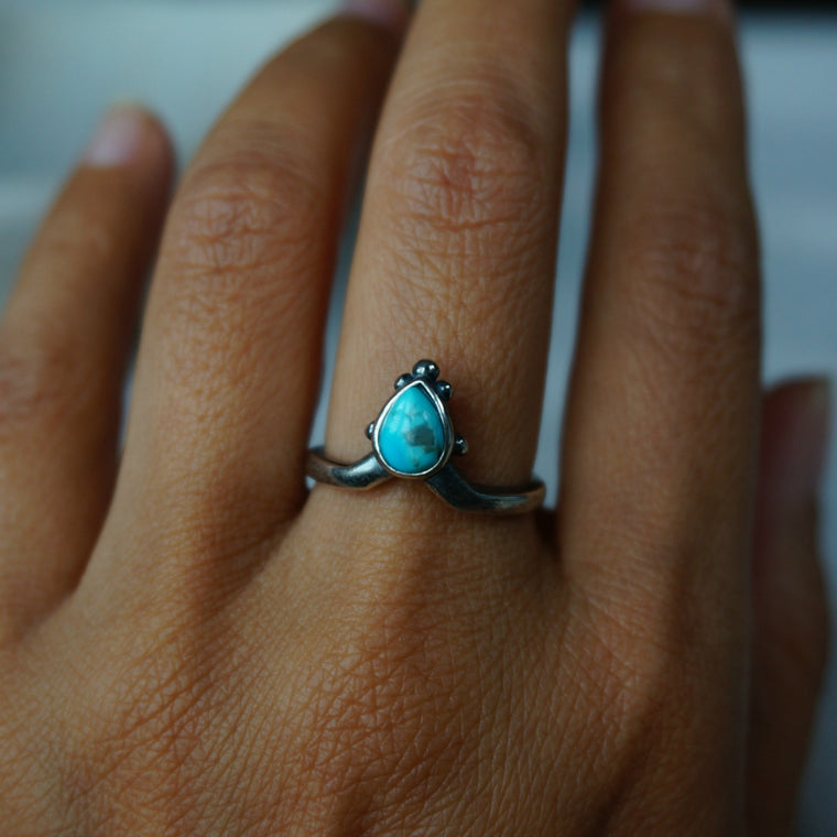 Aenea Turquoise Ring - SOWELL JEWELRY