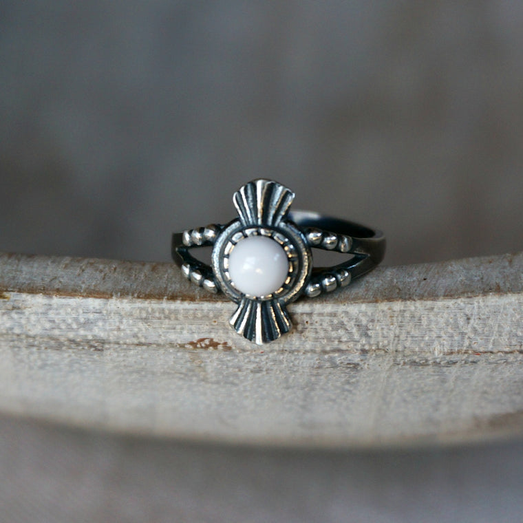 Amelia Silver Ring