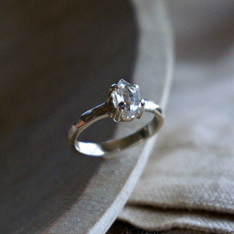 Lia Herkimer Diamond Ring