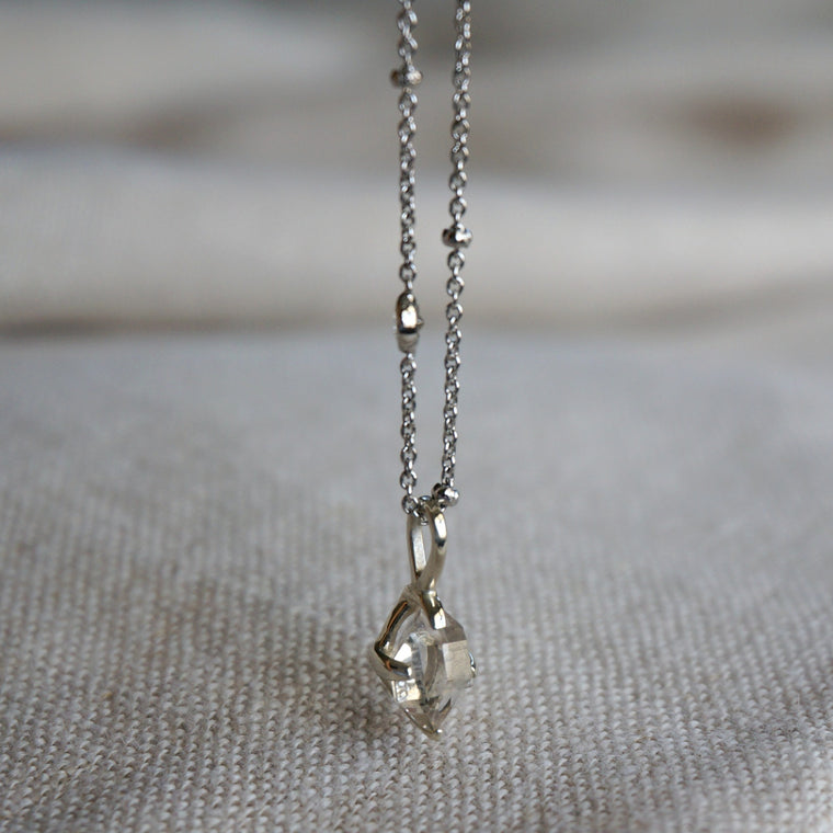 Lia Herkimer Diamond Necklace
