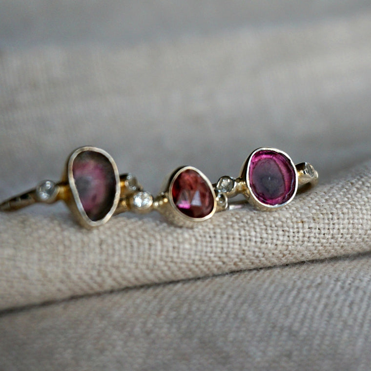 Avery Rubellite tourmaline Ring
