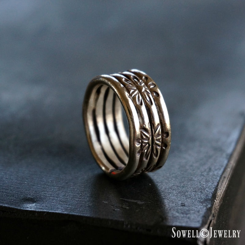 Amani Silver Ring - SOWELL JEWELRY