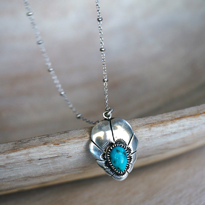 Adoeette Turquoise Necklace - SOWELL JEWELRY