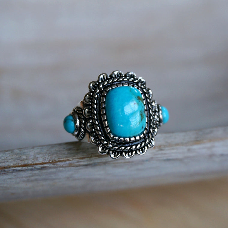 Rayna Turquoise Ring