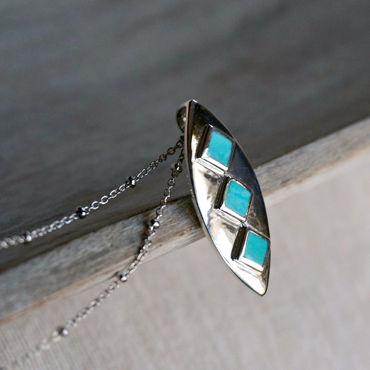 Naila Turquoise Necklace - SOWELL JEWELRY
