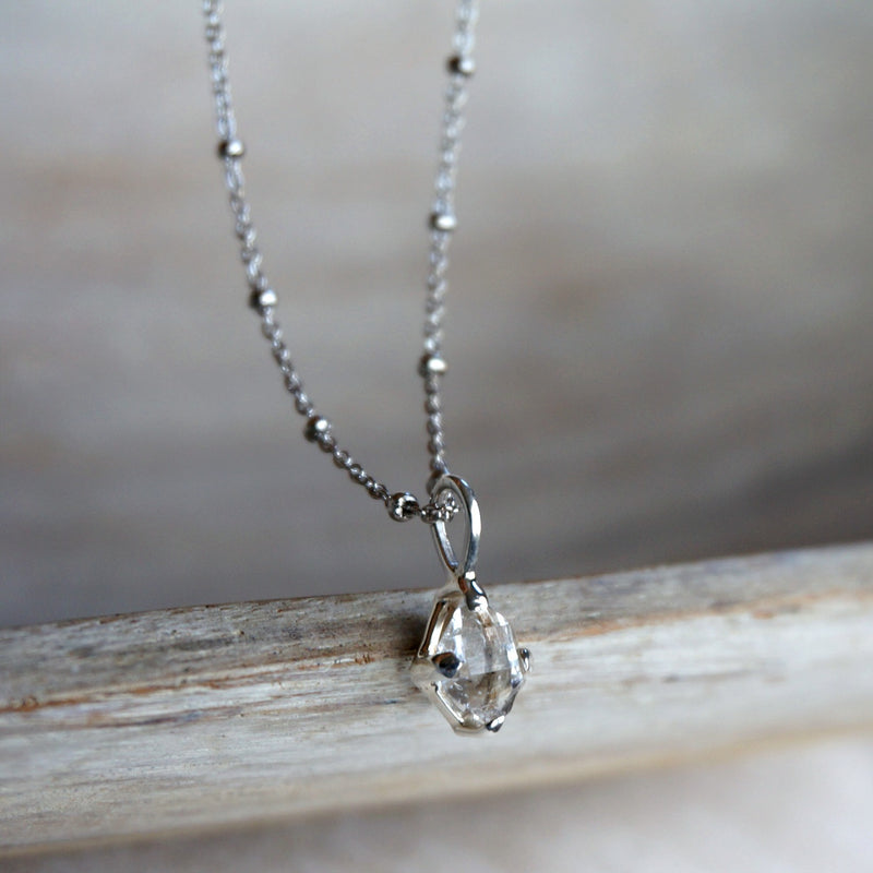 Lia Herkimer Diamond Necklace - SOWELL JEWELRY
