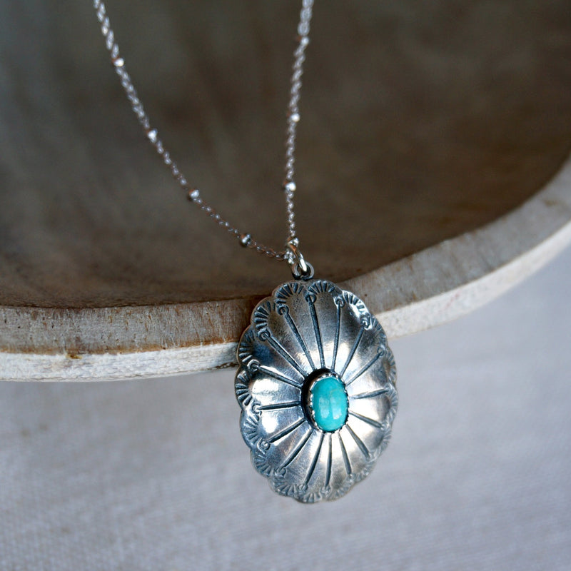 Abeytu Turquoise Necklace - SOWELL JEWELRY