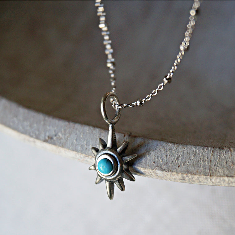 Star Turquoise Necklace
