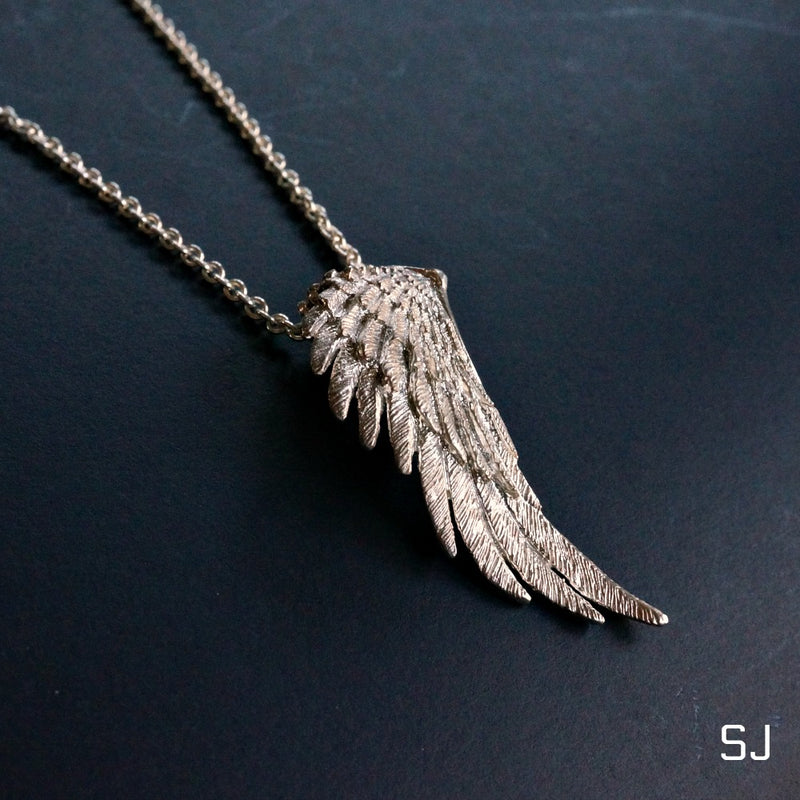 Icarus Wing Pendant - SOWELL JEWELRY