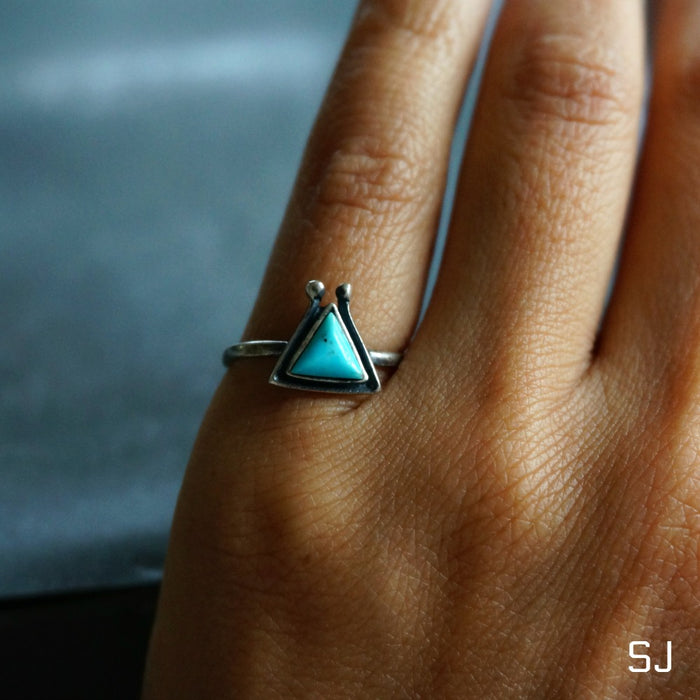 Hanale Turquoise Ring - SOWELL JEWELRY