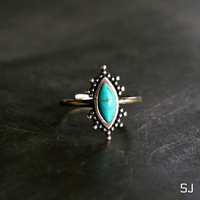 Kal Turquoise Ring - SOWELL JEWELRY