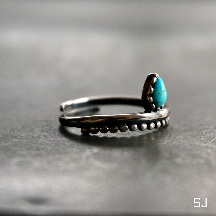 Bipana Turquoise Ring - SOWELL JEWELRY
