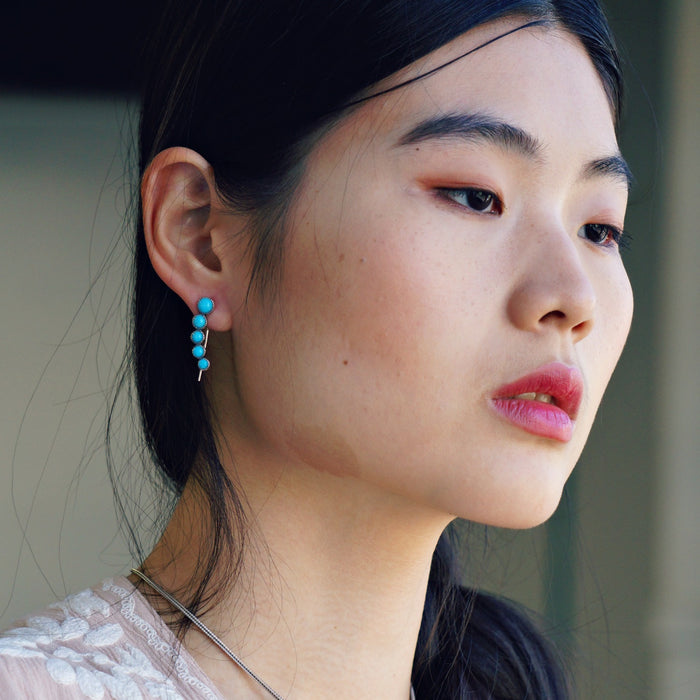 Ilaria Turquoise Earrings - SOWELL JEWELRY