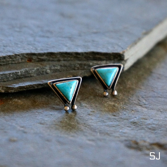 Hanale Turquoise Earrings - SOWELL JEWELRY