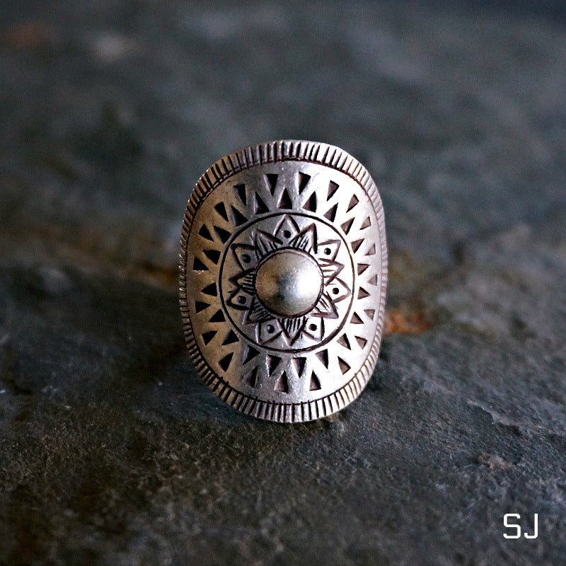 Tad Silver Ring - SOWELL JEWELRY