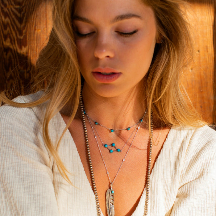 Balint Gemstone Necklace - SOWELL JEWELRY