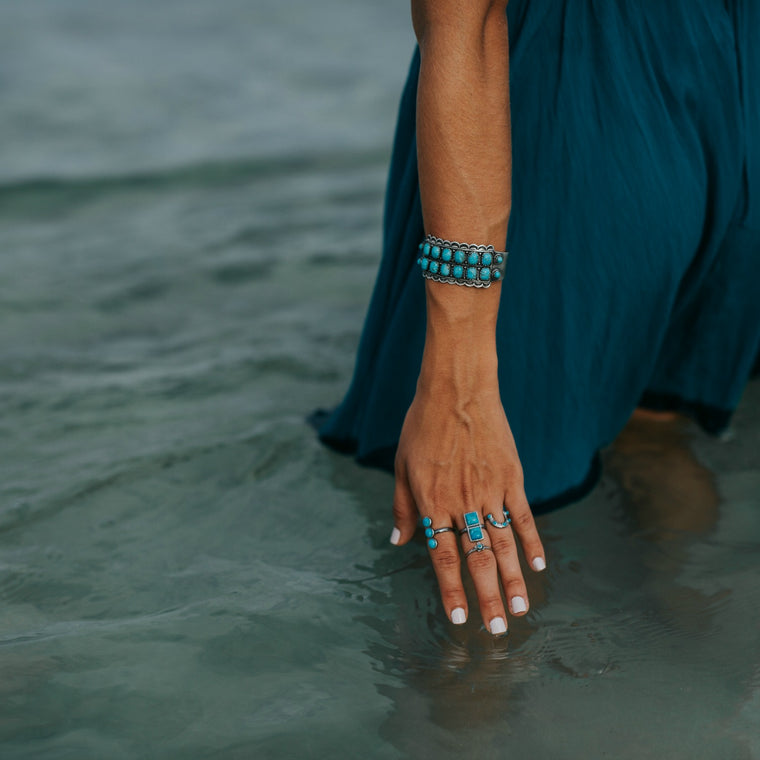 Asia Turquoise Cuff