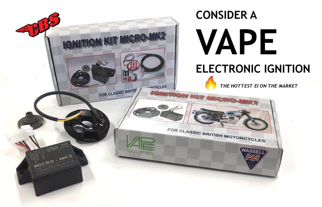 Consider A VAPE Electronic Ignition