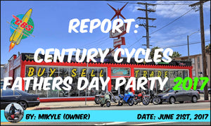 Report: Century Cycles Fathers Day Party 2017
