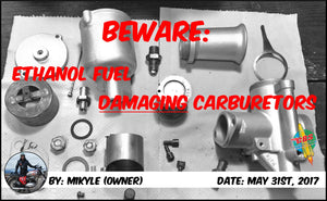 Beware: Ethanol Fuel Damaging Carburetors