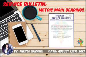 Service Bulletin: Metric Main Bearings